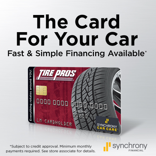 Tire Pros Financing Available at Best Buy tire Pros